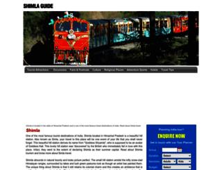 shimlaindia.net screenshot