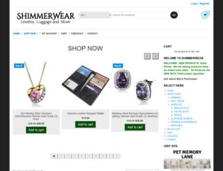 shimmer-wear.com screenshot