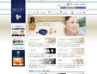 shinbi-ceramics.com screenshot