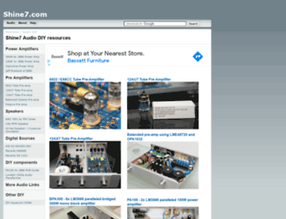 shine7.com screenshot