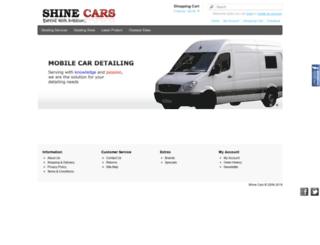 shinecars.com.sg screenshot