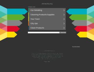 shinecity.org screenshot