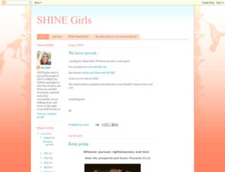 shinegirlsshine.com screenshot