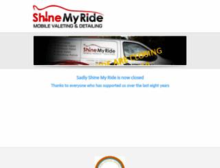 shinemyride.co.uk screenshot