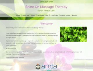 shineontherapy.amtamembers.com screenshot