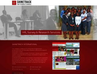 shinetrack.net screenshot