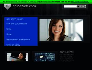 shineweb.com screenshot