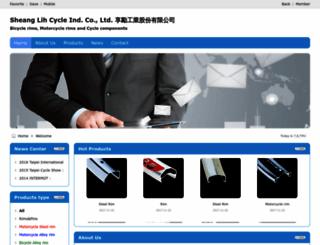shiningcycle.imb2b.com screenshot