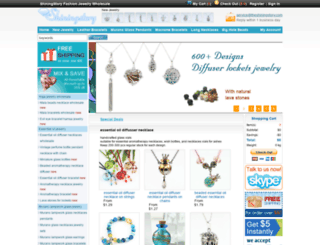 shiningstoryjewelry.com screenshot