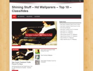 shiningstuff.com screenshot