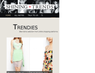 shiningtrends.com screenshot
