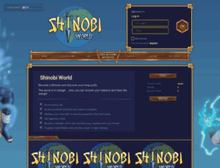 shinobiworld.pl screenshot