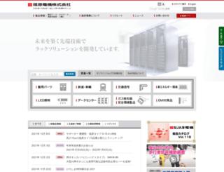 shinohara-elec.co.jp screenshot
