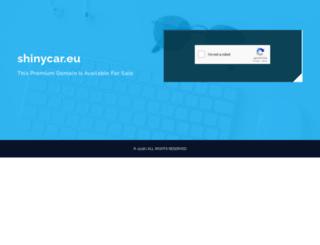 shinycar.eu screenshot