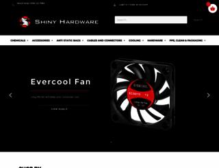 shinyhardware.co.uk screenshot