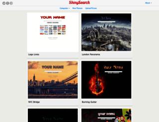 shinysearch.com screenshot