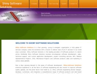 shinysoftwaresolutions.com screenshot