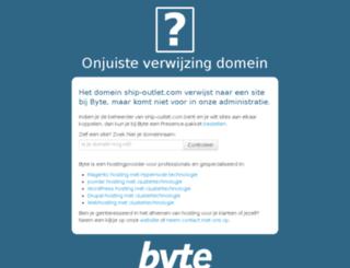 ship-outlet.com screenshot