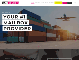 shipbac.com screenshot