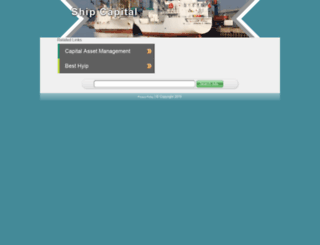 shipcapital.com screenshot