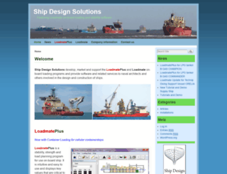 shipdesign.co.uk screenshot