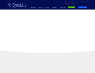 shiplilly.com screenshot