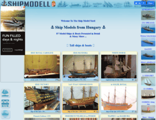 shipmodell.com screenshot