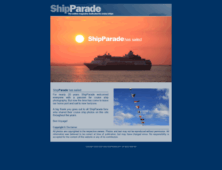 shipparade.com screenshot