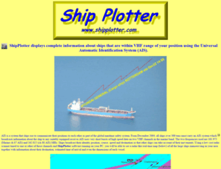 shipplotter.com screenshot