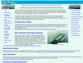 shipsbusiness.com screenshot