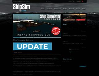 shipsim.com screenshot