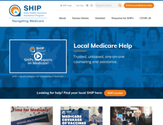 shiptacenter.org screenshot