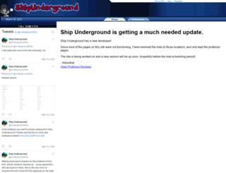 shipunderground.com screenshot