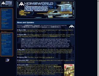 shipyards.relicnews.com screenshot