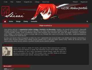 shirai.cz screenshot