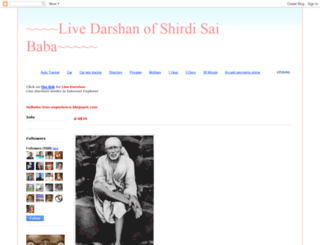 shirdi-sai-darshan.blogspot.com screenshot
