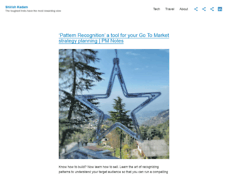 shirishkadam.wordpress.com screenshot