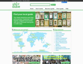 shiroube.com screenshot