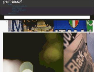 shirt-druck.de screenshot