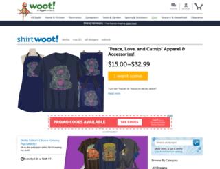 shirt.woot.com screenshot