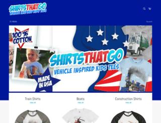 shirtsthatgo.com screenshot
