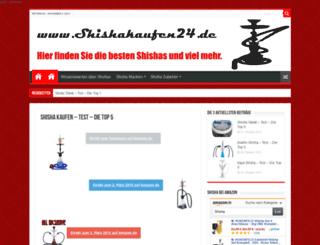 shishakaufen24.de screenshot