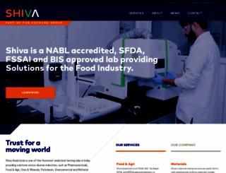 shivaanalyticals.com screenshot