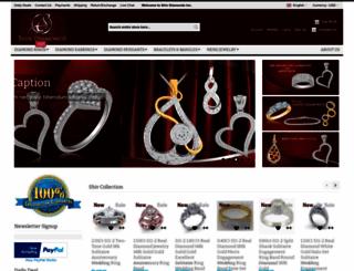 shivdiamonds.com screenshot