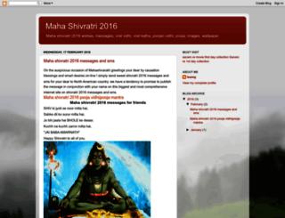 shivratri2016.blogspot.in screenshot