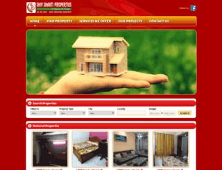 shivshaktiproperties.co.in screenshot