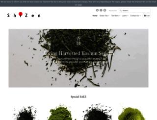 shizentea.com screenshot