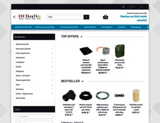 shkshop24.de screenshot