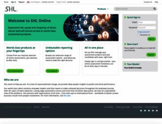 shlonline.com screenshot