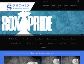 shoals.k12.in.us screenshot